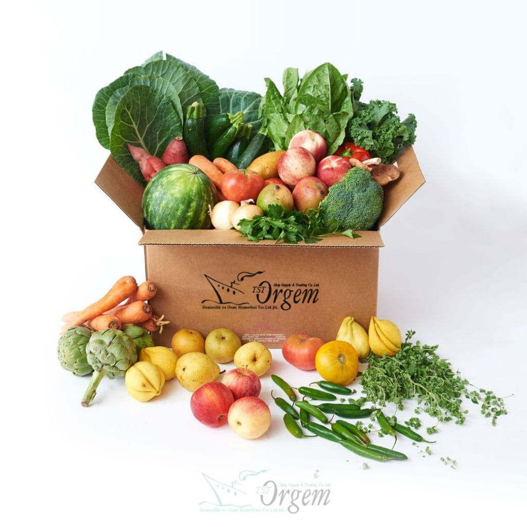 Fruit and Vegetable Supply | TST Orgem Ship Supply Co. Ltd.